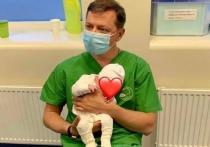 Ляшко впервые показал своего новорожденного сына