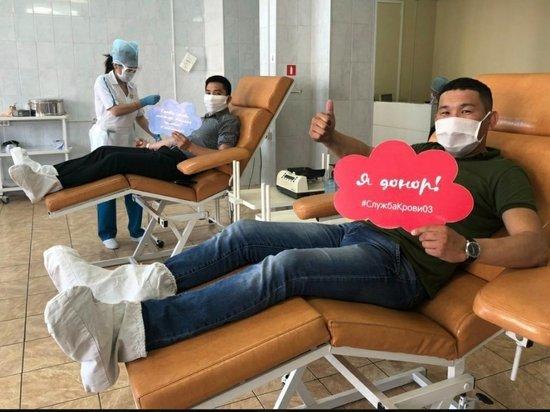 Депутаты горсовета Улан-Удэ сдали кровь ко дню донора