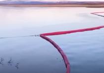 Специалисты взяли новые пробы воды в районе разлива дизельного топлива после аварии на ТЭЦ-3 в Норильске