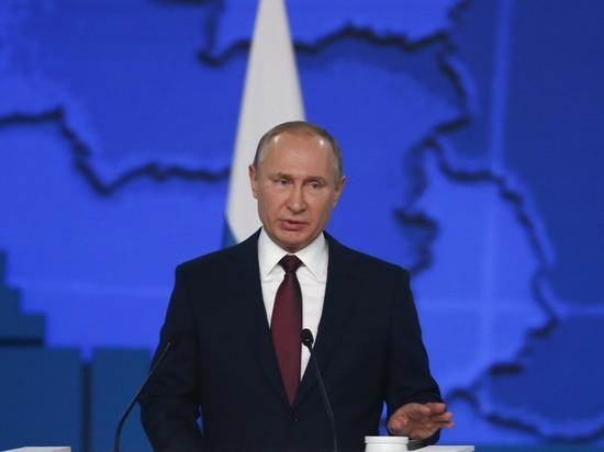 Владимир Путин планирует очно голосовать за поправки в Конституцию