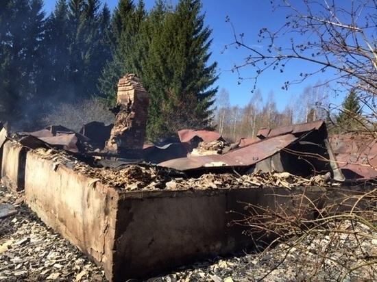 Жительница Тверской области сожгла дом своего бывшего мужа