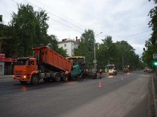 Ремонт улицы Горького в Вологде подрядчик планирует закончить раньше срока