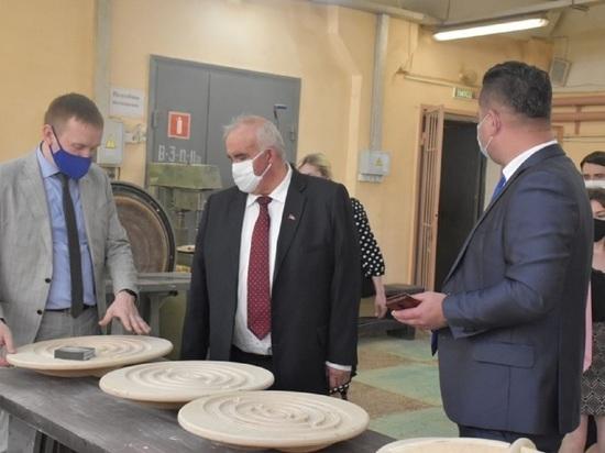 Костромской губернатор Сергей Ситников высоко оценил достижения регионального профтехобразования