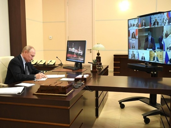 "Оговорка Путина ""создала"" новое министерство"