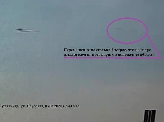 «Похоже на сороку»: в Улан-Удэ засекли еще один странный летающий объект