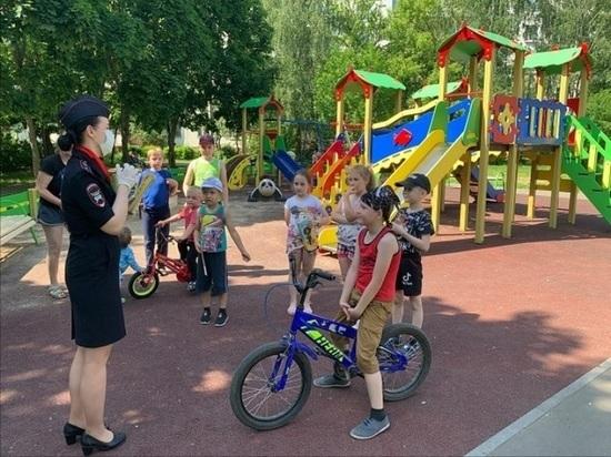 В Серпухове проходит акция «Безопасный двор»