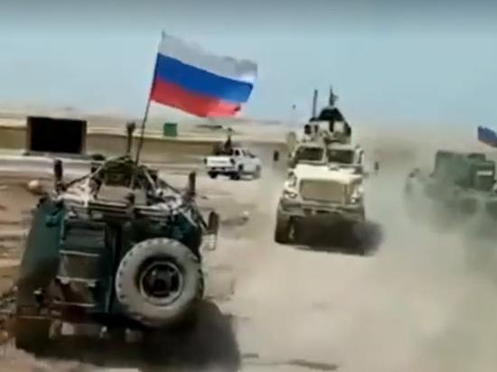 Бронемашина США заглохла при попытке блокировать российский патруль в Сирии