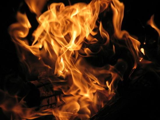 Ночью в Соль-Илецке сгорело популярное кафе