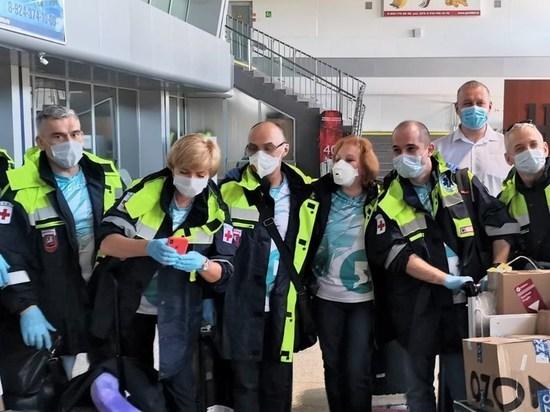 Бригада врачей из Москвы прибыла на смену работавшим в Чите коллегам
