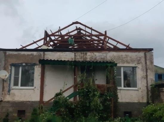 Ураган повалил деревья на дорогу Бежаницы – Локня и снес 20 крыш