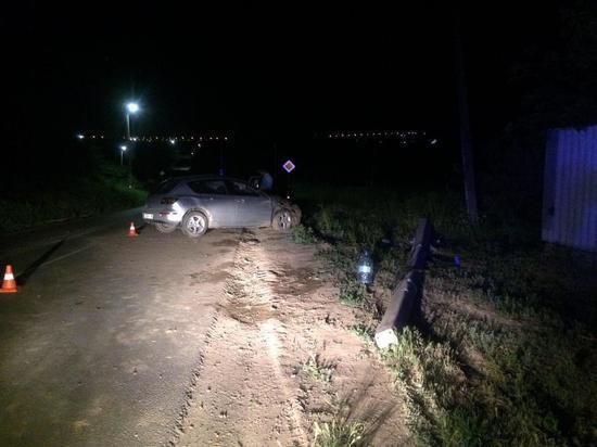 Два человека пострадали, врезавшись на иномарке в опору ЛЭП в Ростовской области