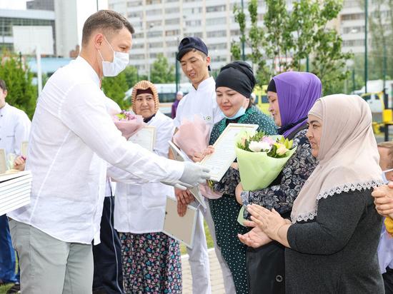 В Казани чествовали волонтеров акции «Дорога жизни»