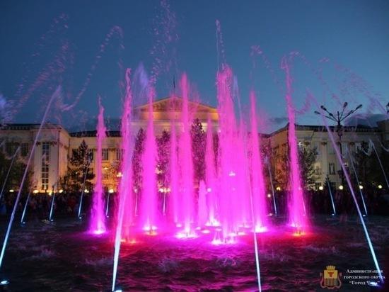 Музыкальный фонтан включат в Чите в честь Дня России