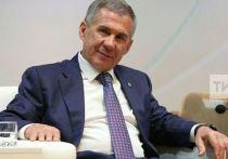 Минниханов поздравил татарстанцев с Днем России