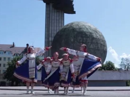 Калужский коллектив станцевал для международного флэшмоба