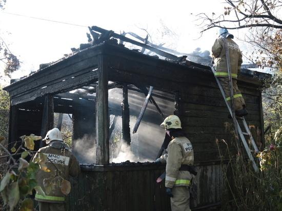 Молния спалила сарай под Хиславичами