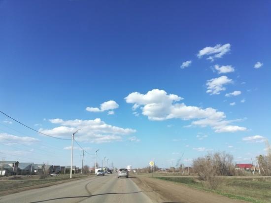В Оренбуржье кратковременный дождь ожидается только в воскресенье