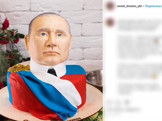 Торт в честь действующего президента продают за 6500 рублей