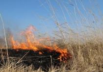 В Калмыкии сохраняется чрезвычайная пожароопасная погода