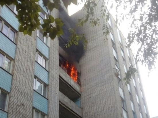В общежитии на севере Волгограда произошел пожар