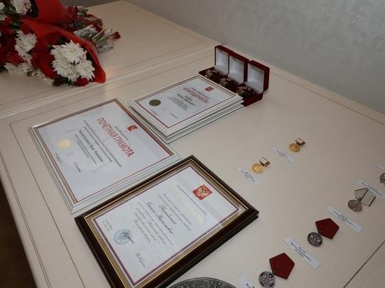 Вологжане получили медали за спасение жизней