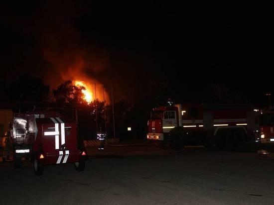 Факельное горение зафиксировано на газораспределительной станции в Казани