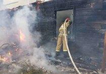 На пожаре в Тырети погиб мужчина