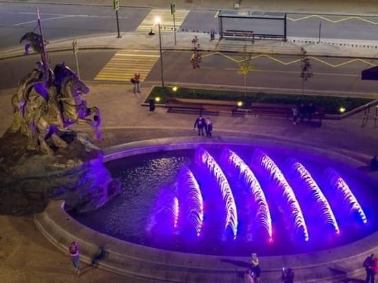 Новый фонтан украсил Серпухов