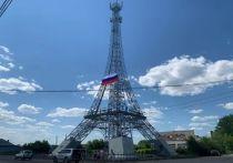 Национальные флаги украсили известные высокие точки Челябинской области