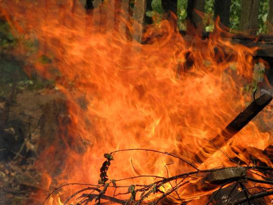 В Дагестанском селе в из-за пожара погиб ребенок