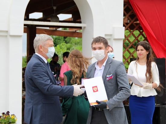 Во Владимире наградили волонтеров акции «#МыВместе»