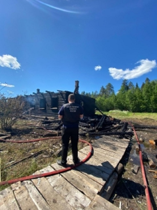 СК возбудил уголовное дело по факту смерти двух детей в пожаре в Костромской области