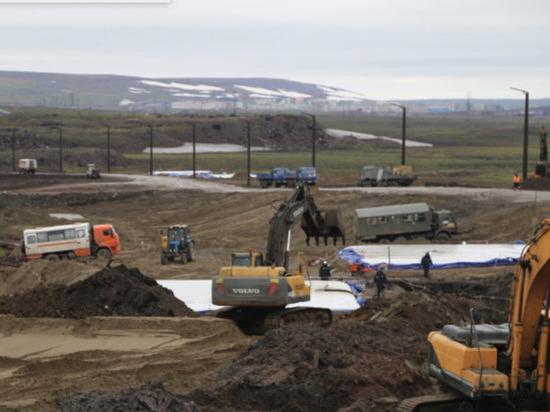 Более 25 тыс.  кубометров водонефтяной смеси собрали под Норильском