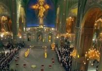 Патриарх Кирилл освятил открывшийся главный храм Минобороны