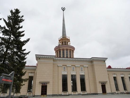 В Петрозаводске полным ходом идет обновление железнодорожного вокзала