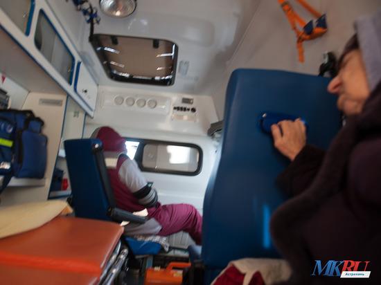 В Астрахани врач скорой помощи чудом спасла ребенка