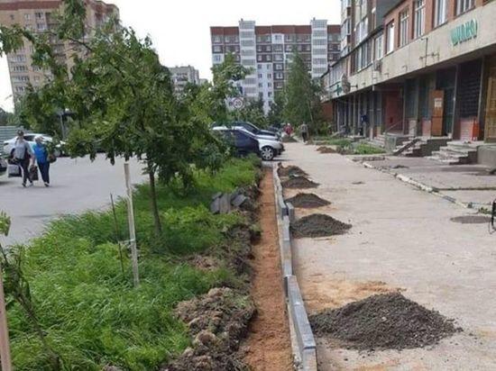 Три новых тротуара оборудуют в Серпухове