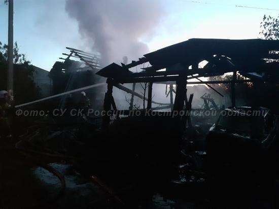 В Шарье при пожаре погиб 58-летний костромич
