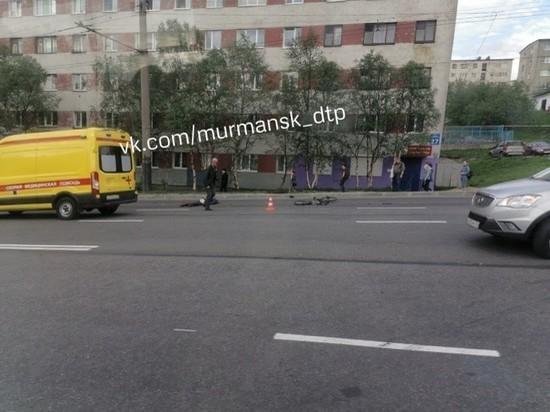 В Мурманске произошло смертельно ДТП с участием велосипедиста