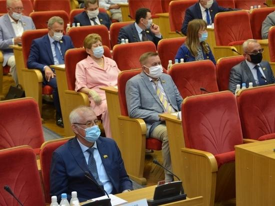 Врио главы Чувашии выступил с отчетом перед депутатами