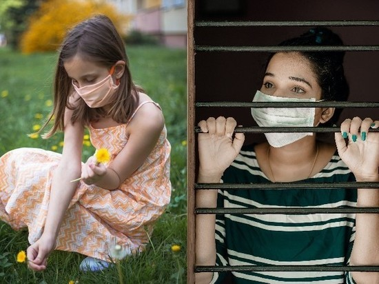 Симптомы COVID-19 различаются у взрослых и детей