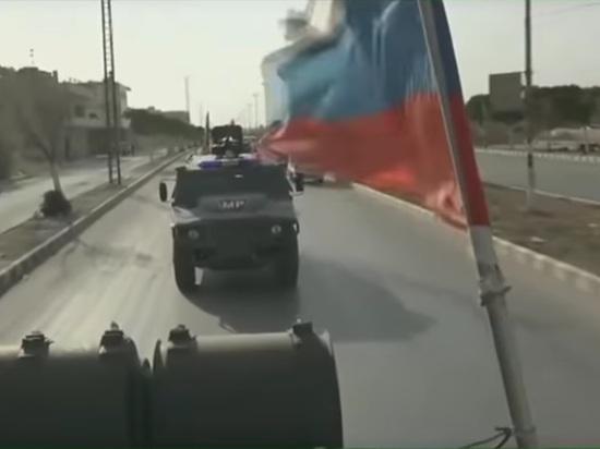 Боевики подорвали российский БТР в Сирии
