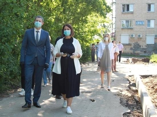 Пущино проинспектировал Министр Московской области