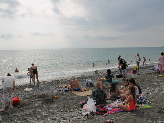 Более 3500 туристов приехали в Сочи за первую неделю июня