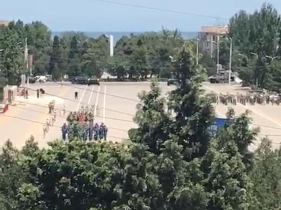 В Дагестане прошла репетиция Парада Победы