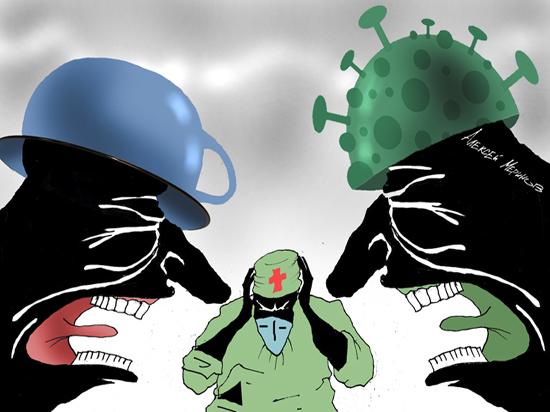 Власть плохого: вирус сносит корону с какократии