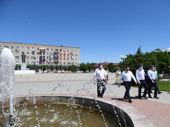 Губернатор проверил реализацию проектов развития в Палласовском районе