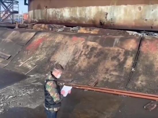 В Норильске завели уголовное дело на проверявшую резервуар №5 инспектора Ростехнадзора