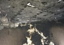 В Ясном на пожаре спасли мужчину