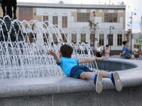 Подарком к празднику стало открытие нового фонтана в Серпухове